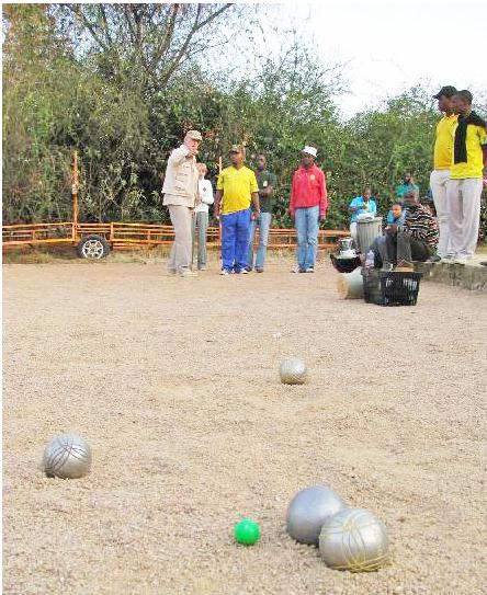 French Bowling Game