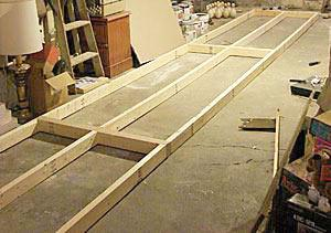 NORTH AMERICAN BOWLING: Homemade Bowling Lanes: Just for Fun, or