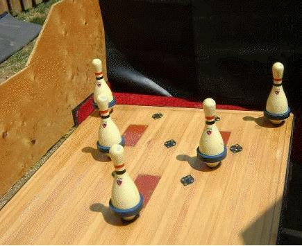 North american bowling homemade bowling lanes just for fun or a fivepintenpin pin deck solutioingenieria Images