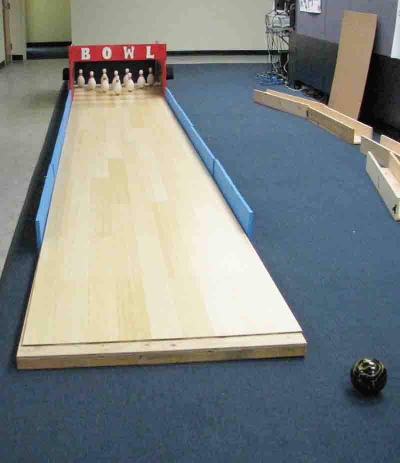 north american bowling homemade bowling lanes just for